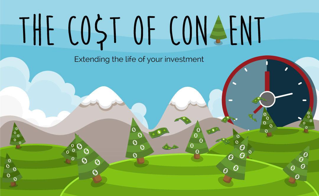 The Cost of Content: Extending the Life of Your Investment