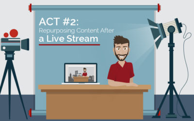 Act 2: How to Repurpose Content after a Live Stream