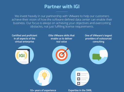 IGI <br> Digital Presence Package