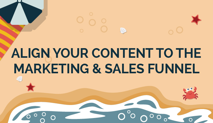 Align your content to the marketing & sales funnel