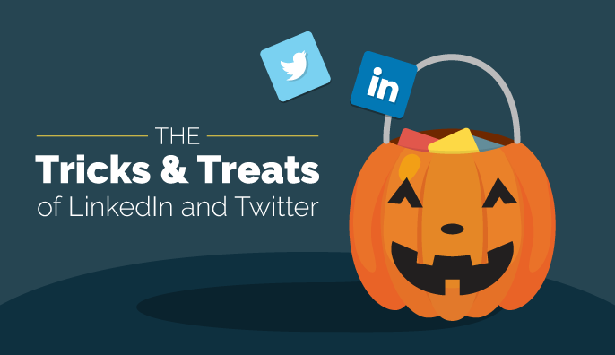 The Tricks & Treats of LinkedIn and Twitter